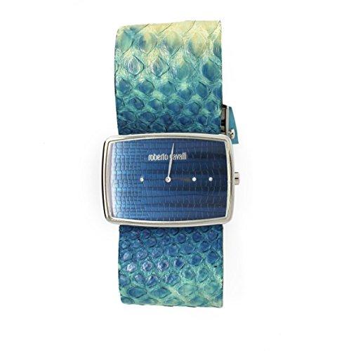 Roberto Cavalli Timewear Orologio Mod.Rettangolo Azzurro
