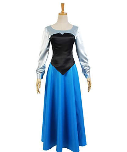 MingoTor Meerjungfrau Uniform Ball Gown Kleid Cosplay Kostüm Damen M