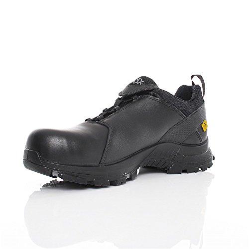 HAIX Herren Sicherheitsschuhe Black Eagle Safety 50 Low schwarz, UK 9.0 / EU 43 Schwarz