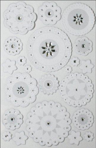 Layered Doily (Large Layered Doily and Gemstones Martha Stewart Stickers M4100194)
