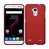 TBOC Red Ultra Thin TPU Silicone Gel Case Cover for ZTE