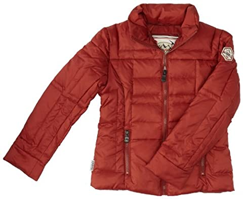 Piper Maru Glad - Doudoune - Manches longues - Fille - Orange (Terracotta) - FR: 16 ans (Taille fabricant: 16 ans)