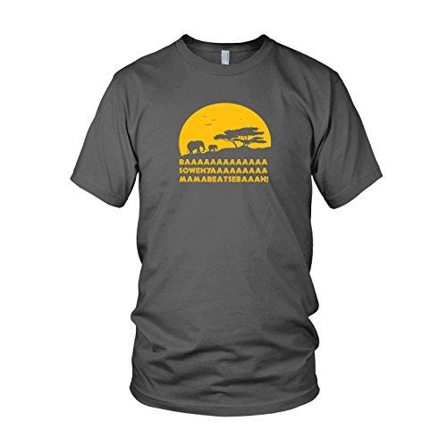 King of Africa - Herren T-Shirt, Größe: L, Farbe: (Timon Kostüm Pumba)