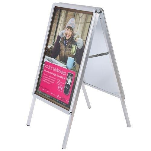 Kundenstopper A1 wetterfest Plakatständer Gehwegaufsteller Passantenstopper Kundenstopper