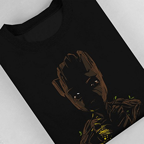 Call Of Grooty Guardians Of The Galaxy Women's Sweatshirt Black