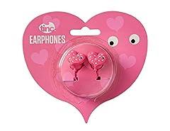 Idea Regalo - Tinc EARMA1PK Mallo cuore carattere in-ear auricolari per bambini