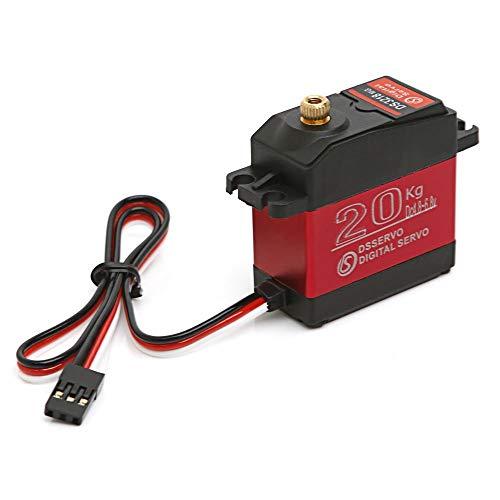hahuha Toy  Dekompressionsspielzeug,DS3218 270 Grad Digital RC Servo 20KG wasserdichte Metall RC Servomotor