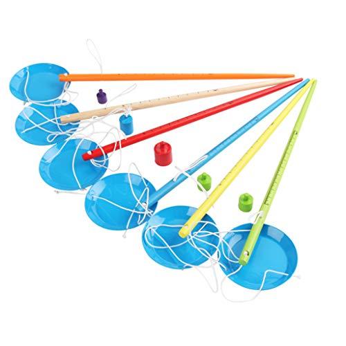 ZOUCY Pädagogisches Spielzeug, Exquisite Balance Single Pole Scale Toy wissenschaftliches Experiment Science Kits Kinder pädagogisches Spielzeug