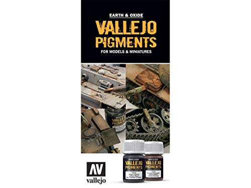 AV Acrylicos Vallejo: Vallejo CC088 Color Chart: Pigments -