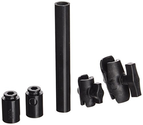 RAM Mounts (RAP-CB-201-14U) 14 Long Extension Pole with 1 and 1.5 Single Open Sockets by NationalMounts - Ram Gps Mounts