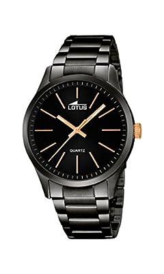 Reloj Lotus Caballero 18162-2 En Acero Ip Negro de Lotus