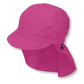 5e0cb376 Sterntaler Unisex Peaked Cap M. Neck Protection Cap, Pink (Magenta 745),