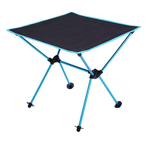 Hh001 Outdoor Camping Tragbare und Tragbare Klapptisch Oxford Tuch Flugzeuge Aluminiumlegierung Picknick Grill Tisch Freizeit Tisch (Color : ORANGE)
