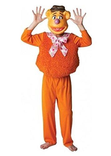 ets der Fozzy Bär Kinder-Kostüm Alter 3-4 kleine ()