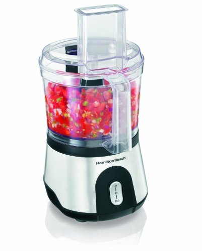 Hamilton Beach 10 Cup Food Processor with Compact Storage