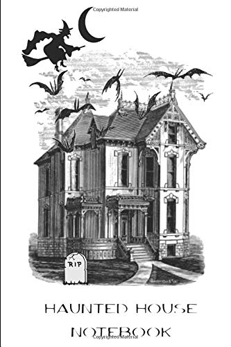 Halloween Haunted House Notebook: Compact and Convenient Lined Journal