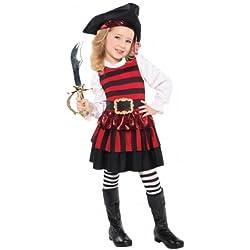 Vestido de pirata para niña a partir de 3 años.