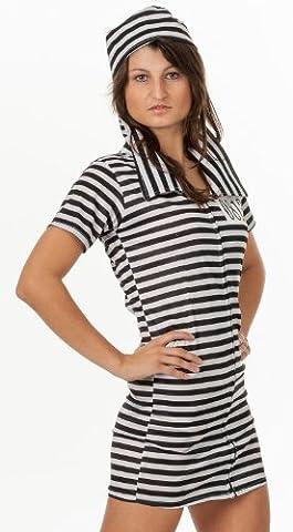 Femme Costumes De Prisonniers - R-Dessous - Costume du Prisonnier pour Femme