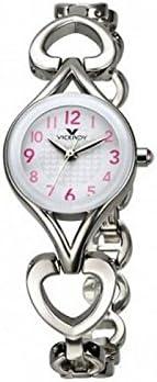 Viceroy 40682-04 - Reloj infantil, correa de acero inoxidable color plateado