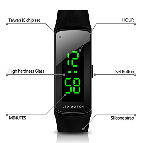 Hiwatch LED Uhr Unisex Digital - 3
