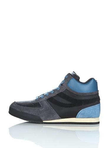 Sneakers - 4430-suecordu BLACK-GREYSTONE-AVIO