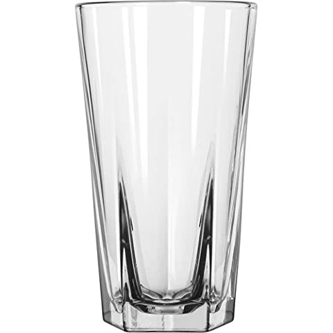 Libbey 15477 16 Ounce Duratuff Inverness Cooler Glass (15477LIB) Category: Iced Tea and Soda Glasses by