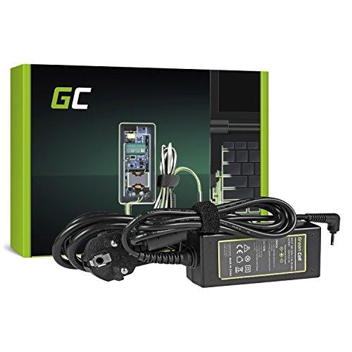 Green Cell® Netzteil für ASUS Eee PC 1001 1001HA 1001PX 1001PXD 1005 1005H 1005HA 1005P 1005PXD 1008HA 1011PX 1015 1015BX 1015P 1015PN 1016 Laptop Ladegerät inkl. Stromkabel (19V 2.1A 40W)