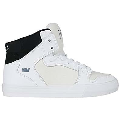 3eb80087596 Supra Vaider LC Sneaker White/Black/White 9 D(M ...