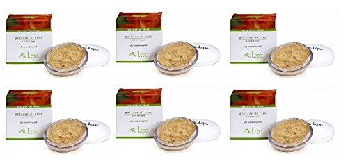 lepo-6-confezioni-di-polvere-di-riso-20-grammi-beige-opacizza-e-uniforma-il-colorito