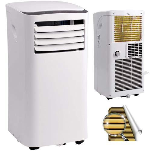 Mobile Klimaanlage 3in1 Kühlen/Entfeuchten/Ventilieren 17~35°C Lokales Klimagerät mit Golden-Fin Wärmetauscher SMND-PAC-09 9000 btu 2,6kW