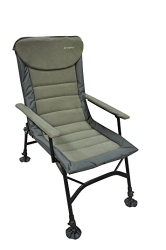 MK-Angelsport Kingsize Recliner pro Carp Chair Angelstuhl Karpfenstuhl Stuhl Outdoor