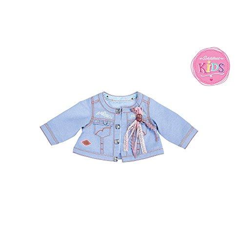 Schildkröt 651400027 - Kids Jacke Jeans mit Eulenanstecker, bis 36 cm (Jacke Bb Jeans)
