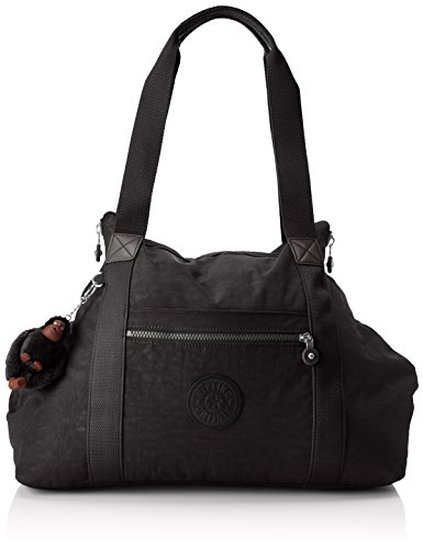 Kipling Art M Borsa da Viaggio Media, 58 cm, Blu (Dazz True Blue) Nero (True Black)