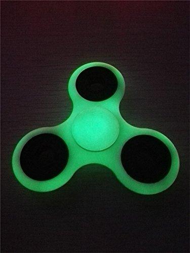 Preisvergleich Produktbild HENGSONG Leuchtende Nacht Fidget Toys Hand Spinner Finger Spielzeug für Kinder und Erwachsene Spielzeug Geschenke