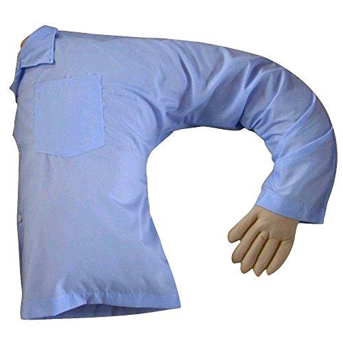 Skyoo fidanzato braccio cuscino muscolare maschio cuscino creativo di San Valentino cuscino, Tessuto, Blue Particles, Taglia libera