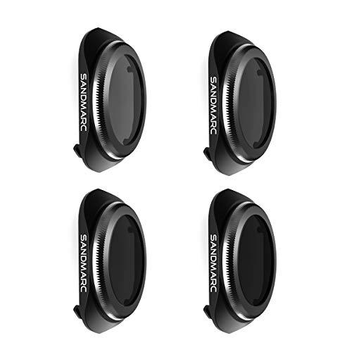 SANDMARC Pro Filter für DJI Mavic 2 Pro - ND4/PL, ND8/PL, ND16/PL, ND32/PL (4-Pack)