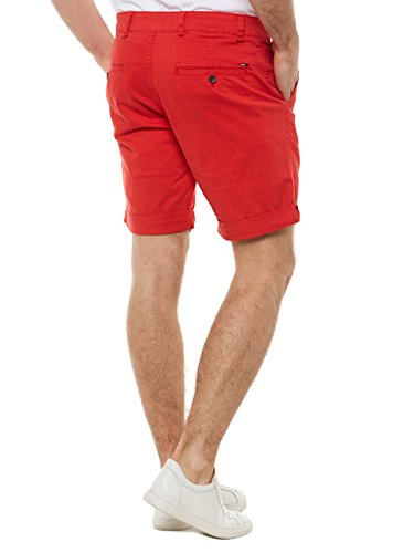 Tommy Jeans Herren Shorts Rot