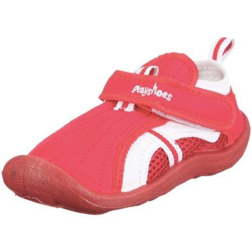 Playshoes Aqua-Schuh 174793, Unisex - Kinder Sandalen/Bade-Sandalen Rot (Rot8)