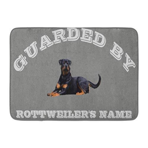 LIS HOME Badematte Rotties Rottweiler Dog Breed House Schutz Custom Pride Badezimmer Dekor Teppich -