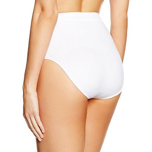 belly cloud Damen Slip  figurformender seamless Slip Weiß (weiß 099)