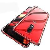 Tarkan Shockproof Bumper Soft Protective Back Case Cover for OnePlus 7 (Transparent)