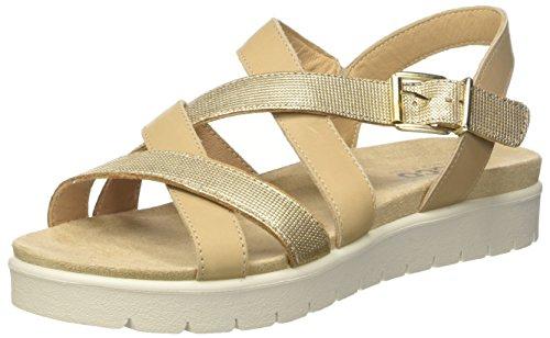 IGI CO Women's Dsn 11712 Open Toe Sandals, Off-White (Platino 33), 6 UK