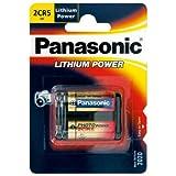 Panasonic 2CR5 6V Photo Power Lithium Batterie 10-Pack, 1600mAh