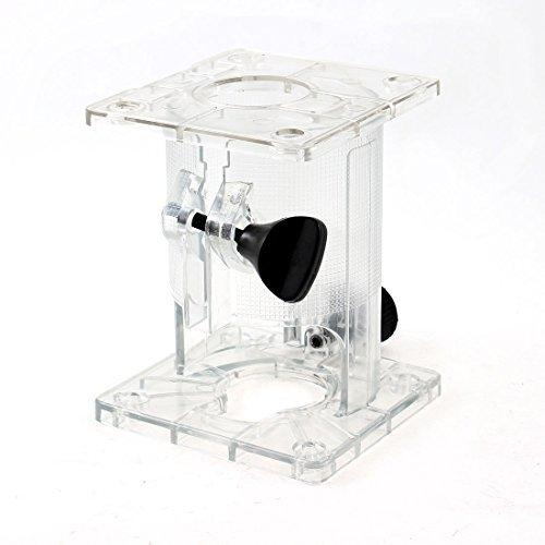 Sourcingmap a13090500ux1023 - Scudo base trasparente di plastica a forma di cilindro per makita 3703 trimmer