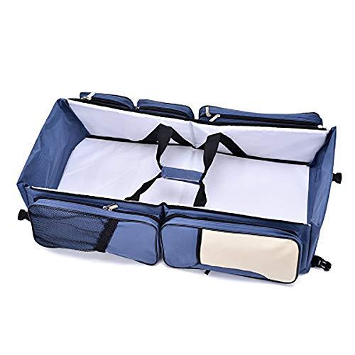 FCH123 Multifunktionale 3 In 1 Wickeltaschen Tragbare Reisekrippe Modischer Charme Tragbares Reisebett Multifunktions-Mumienbeutel Eine Schulter Faltbar GroßE KapazitäT Tragbare Krippe