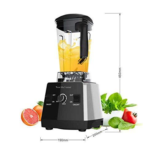 ZGYQGOO Home Desktop Mixer, Geeignet für Smoothie, Juicer Multifunktions-Ergänzungsfutter Juice Soy Milk Mixer Sand Machine