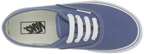 Vans T Authentic, Baskets mode mixte enfant Bleu (Navy)