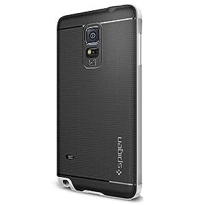 Spigen Coque Galaxy Note 4 Neo Hybrid Satin Silver SGP11120