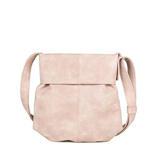 Preisvergleich Produktbild ZWEI Handtasche Umhängetasche MADEMOISELLE M10 Kunstleder,  Farbe:creme