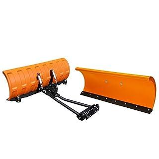 Schneeschild ATV Quad Rasentraktor orange